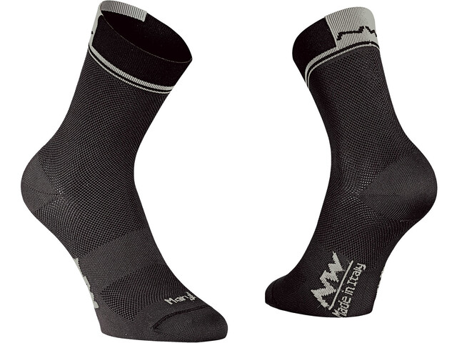 Northwave Logo 2 High Socks black/grey